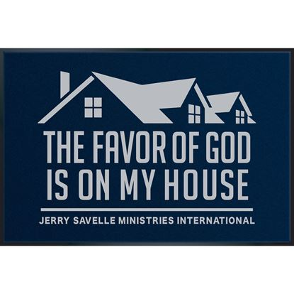Picture of Doormat - The Favor Of God Is On My House